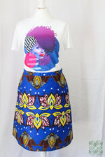 Load image into Gallery viewer, Teshie A-Line Skirt 10