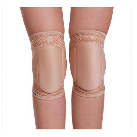 Natural Knee Pads with GRIP (Latte)