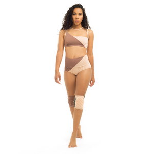 Movement High-Low Shorts - Powder 00/Nude 02