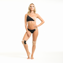 Load image into Gallery viewer, Movement Top - Black/Nude 01