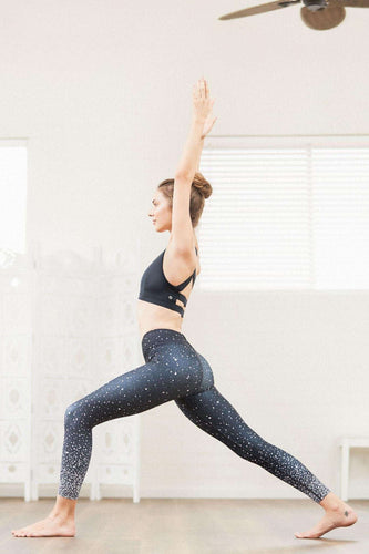 Shine High Waist Printed Yoga Legging - 7/8