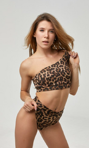 Devi - Leopard Top
