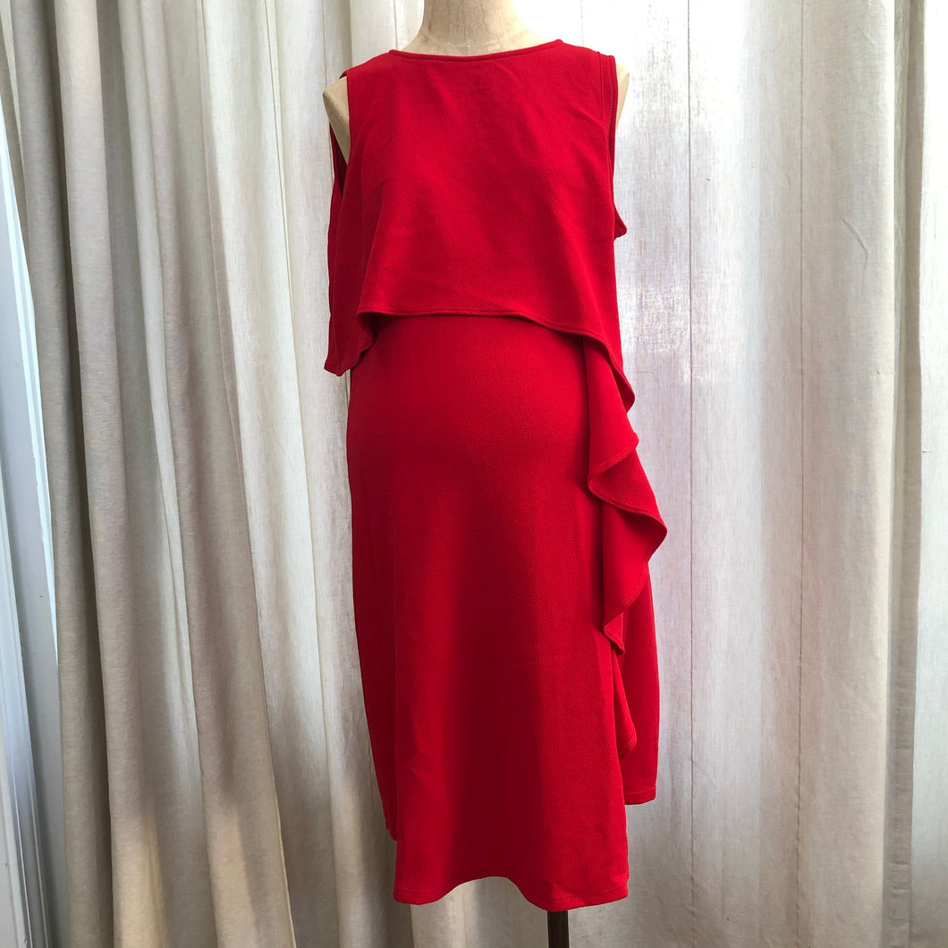 Maternal America Red Dress Size Medium NWT