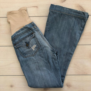 A Pea In The Pod Collection Flare Jeans Size 28