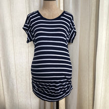 Load image into Gallery viewer, Old Navy Maternity Striped T Shirt Size Medium