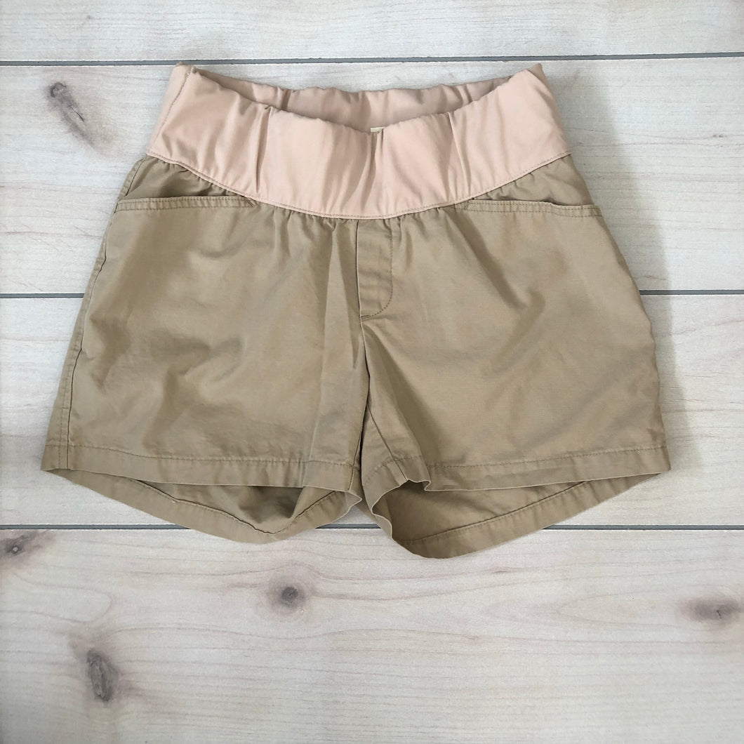Gap Maternity Khaki Shorts Size 6 R