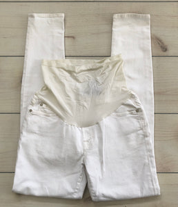 A Pea In The Pod Collection White Jeans Size 30