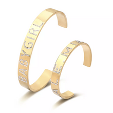 Load image into Gallery viewer, Bold Bling Cuff