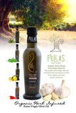 Pellas Nature Fresh Organic Basil Infused Extra Virgin Olive Oil | 8.45 oz Bottle