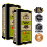 Ellora Farms | Certified PDO Greek Extra Virgin Olive Oil | Traceable & Single Estate | 33.8 oz Tin