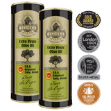 Ellora Farms | Certified PDO Extra Virgin Olive Oil | Traceable & Single Estate | 17 Oz Tin