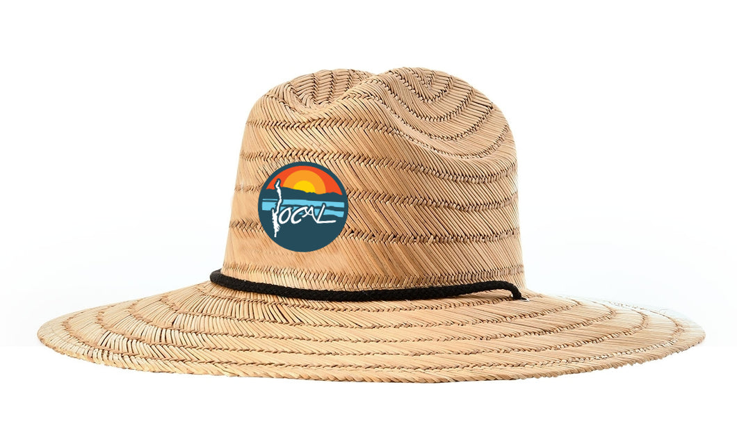No Wake Zone Straw Hat