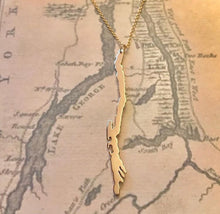 Load image into Gallery viewer, Lake George Necklace Gold