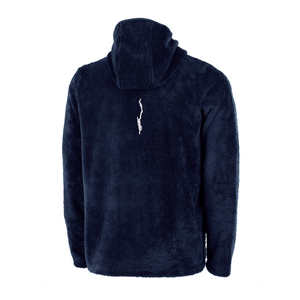 Mens Q-Zip Hooded Fleece