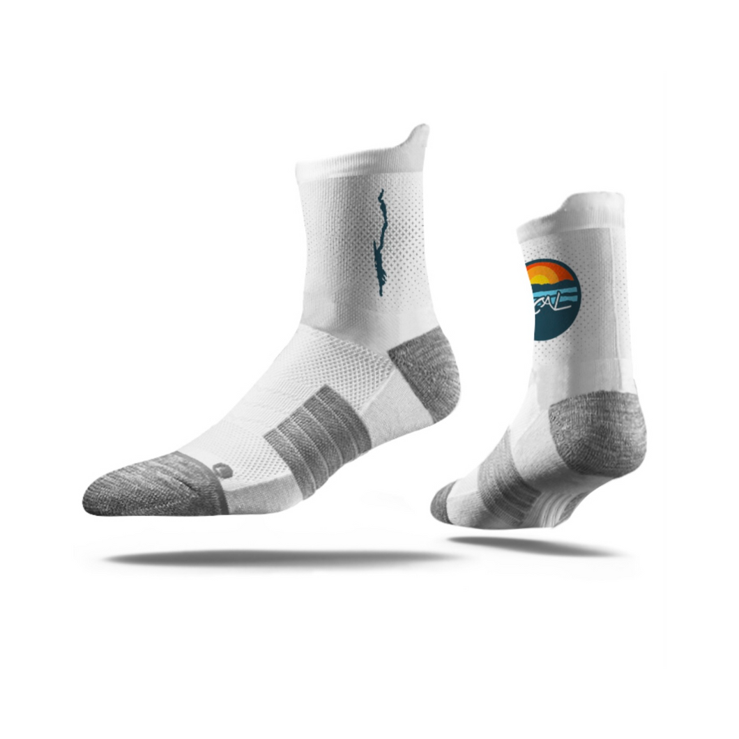 Lake George Mid Crew Socks