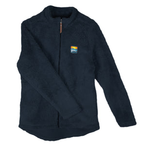 Ladies Full Zip Wooly Jacket
