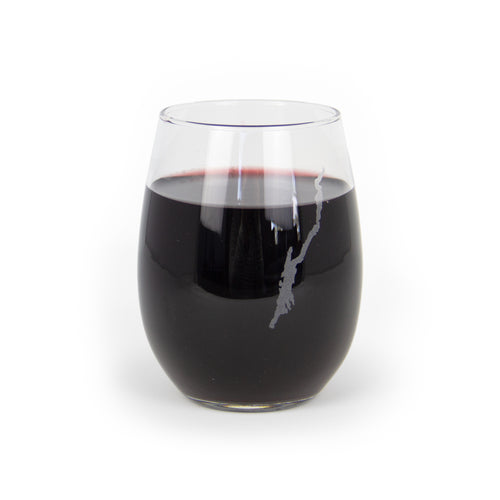 Lake House Wine Glass Stemless