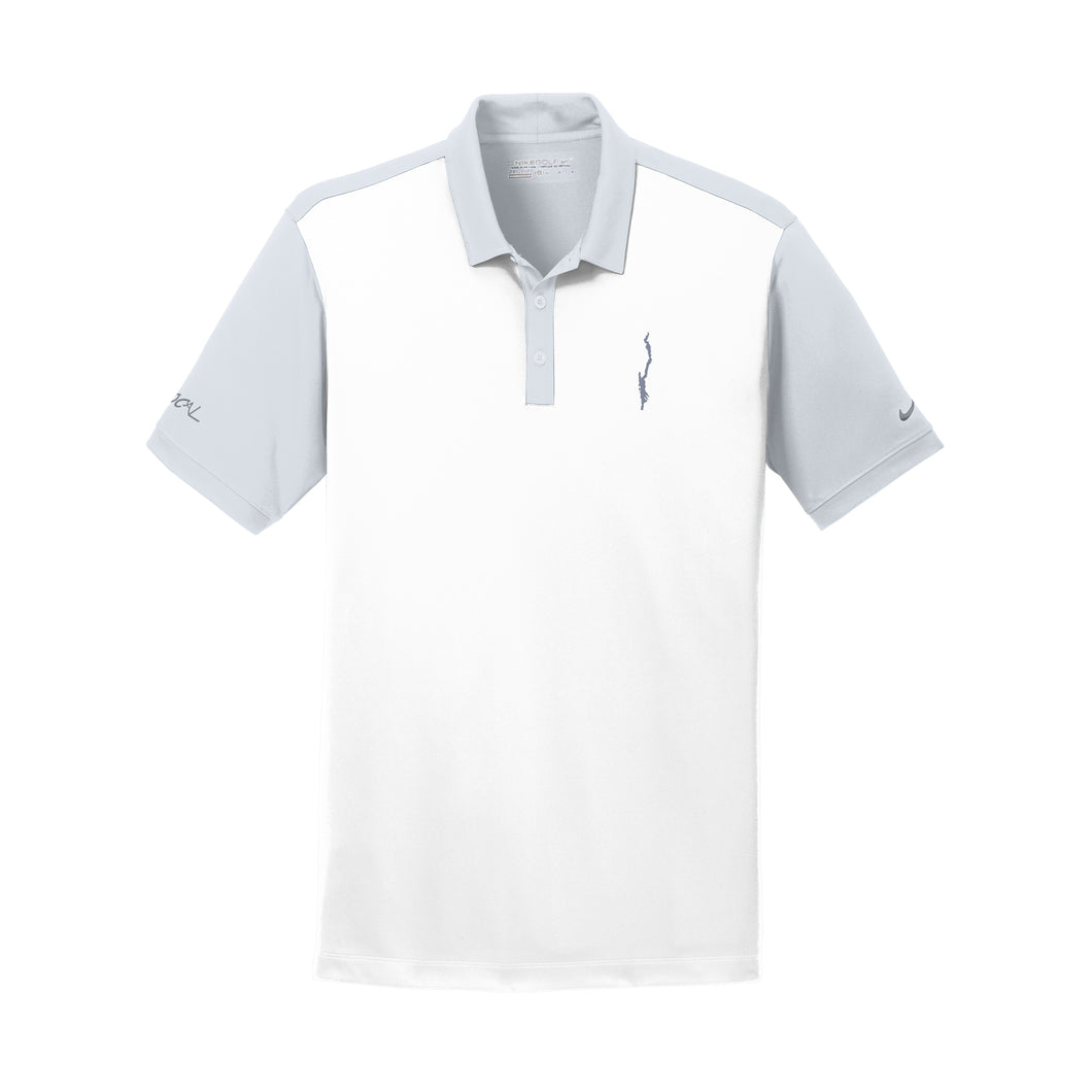 Mens Nike Golf White Color Block