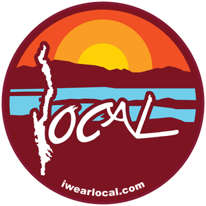 Local Maroon Sticker