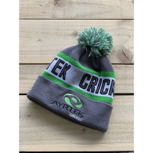 Ayrtek Cricket #TeamTek Bobble Hat - The Cricket Store