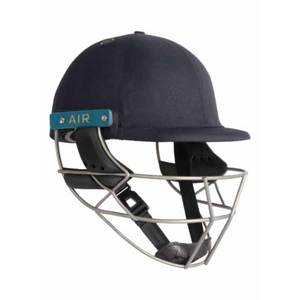 Open image in slideshow, Shrey Sports Master Class Air 2.0 Titanium Cricket Helmet (Navy) as used by Virat Kohli - The Cricket Store