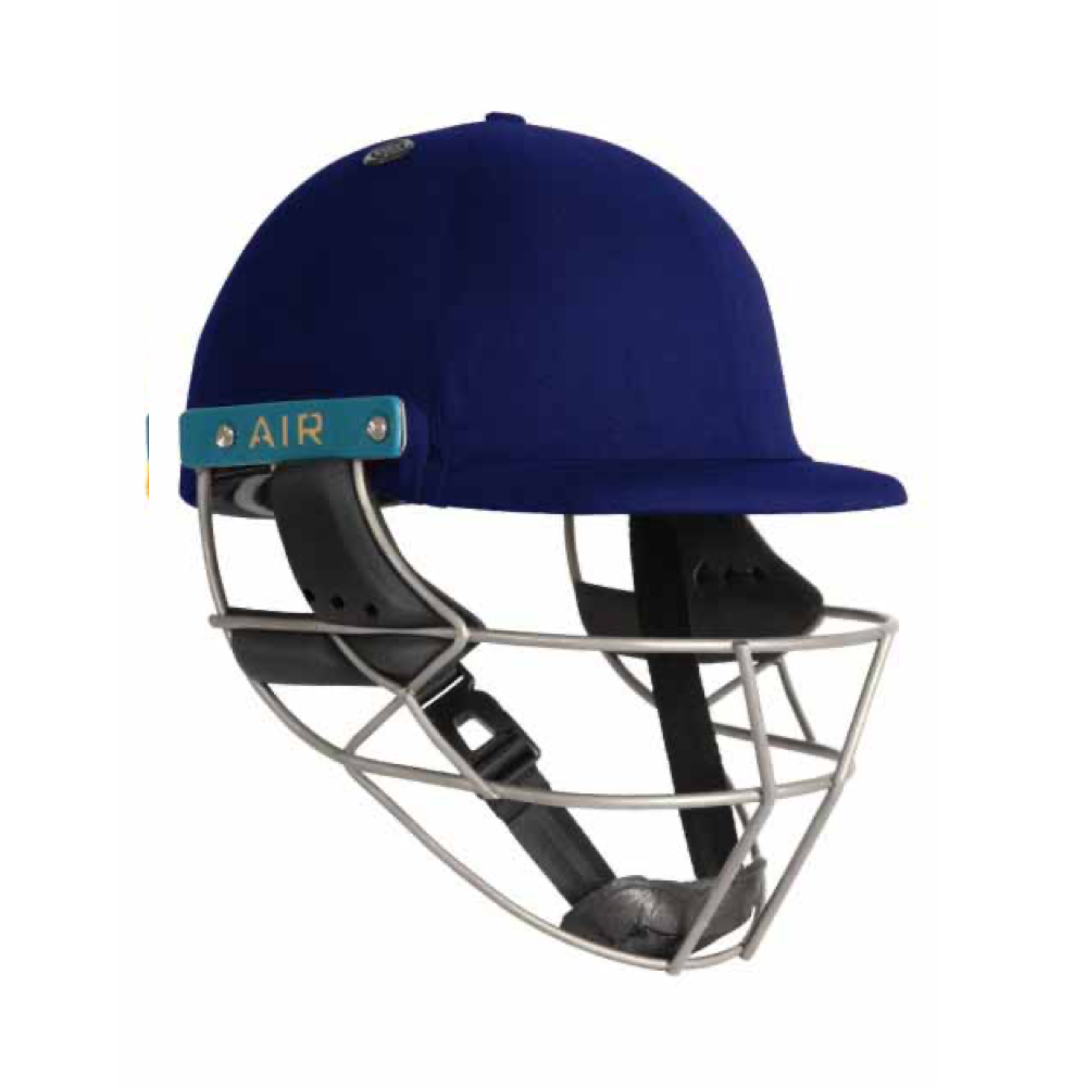 Shrey Sports Master Class Air 2.0 Titanium Cricket Helmet (Royal Blue) - The Cricket Store