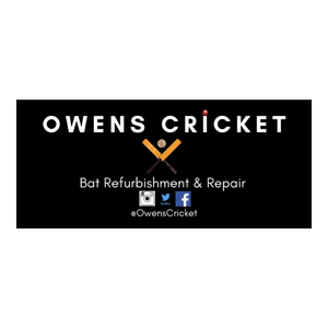 Bat Refurbishment by Owens Cricket - The Cricket Store