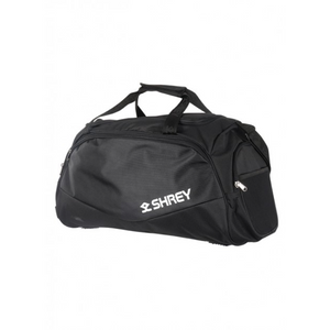 Shrey Sports Black Cricket Holdall Bag - The Cricket Store (1)