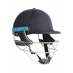 Shrey Sports Master Class Air 2.0 Stainless Steel Cricket Helmet (Navy) - The Cricket Store (1)