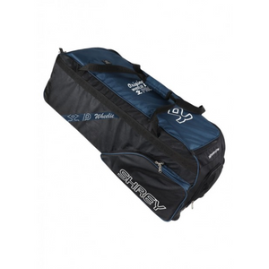 Shrey Pro Wheelie Black & Blue Soft Coffin Cricket Bag - The Cricket Store (1)