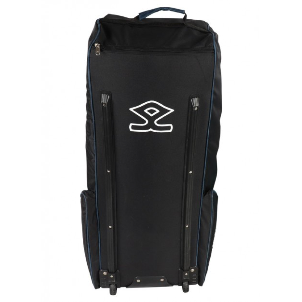Shrey Pro Wheelie Black & Blue Soft Coffin Cricket Bag - The Cricket Store (4)