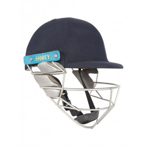 Shrey Wicket Keeping Air 2.0 Stainless Steel Helmet (Navy) - The Cricket Store (1)