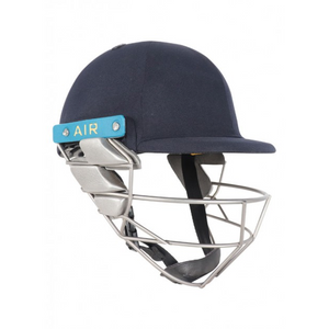 Shrey Wicket Keeping Air 2.0 Titanium Helmet (Navy) - The Cricket Store (1)