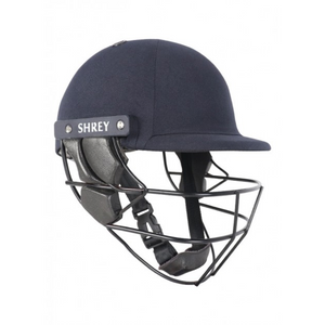 Shrey Sports Armor 2.0 Steel Junior Cricket Helmet (Navy) - The Cricket Store