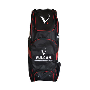 Vulcan Cricket Black & Red Duffle Bag - The Cricket Store (1)