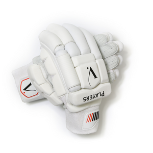 Open image in slideshow, Vulcan Cricket G1 White Batting Gloves - The Cricket Store (1)