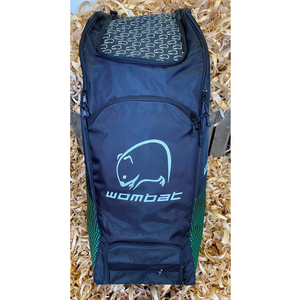 Wombat Cricket Pro Duffle Cricket Bag MK2 Green & Black - The Cricket Store (1)