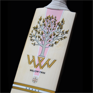 Open image in slideshow, Willow Twin Hera Handmade English Willow Cricket Bat - The Cricket Store (1)