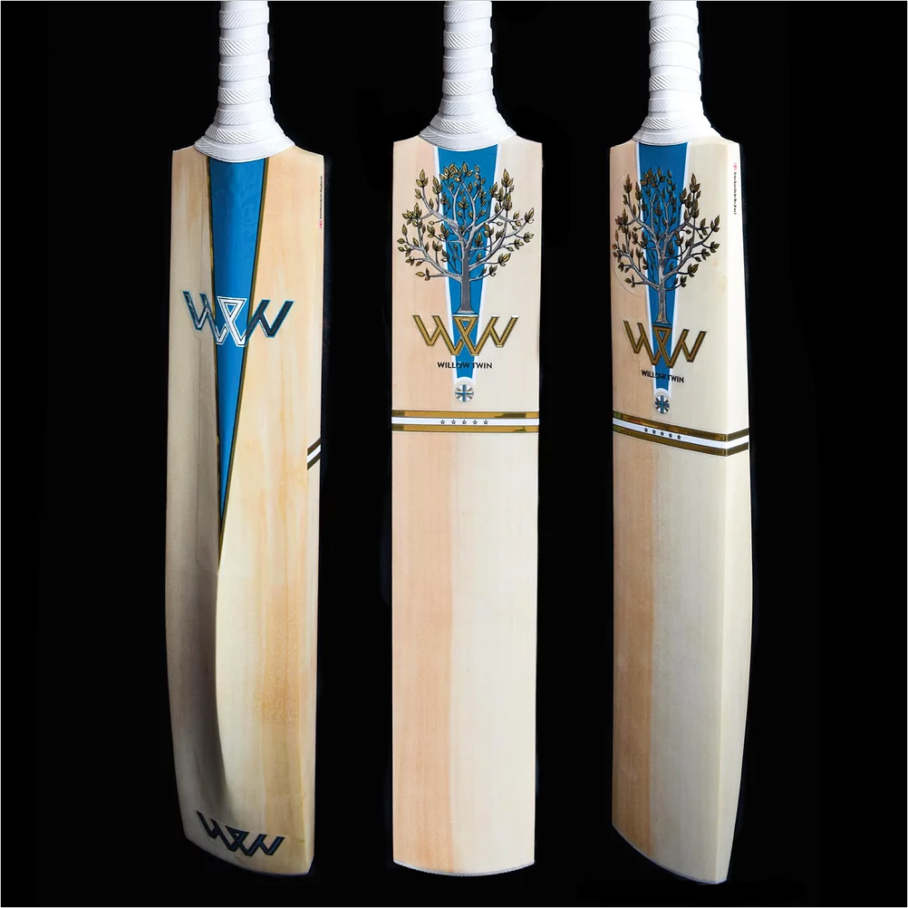 Willow Twin Triton Handmade English Willow Cricket Bat - The Cricket Store (1)
