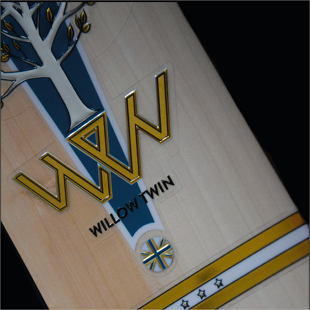 Willow Twin Triton Handmade English Willow Cricket Bat - The Cricket Store (7)