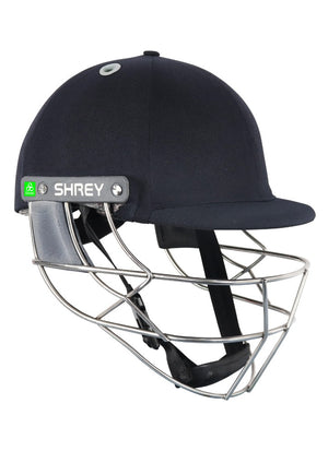 Shrey Koroyd Stainless Steel Cricket Helmet (Navy) | The Cricket Store (1)