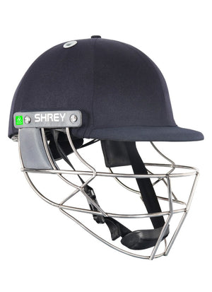 Shrey Koroyd Titanium Cricket Helmet (Navy) - The Cricket Store (1)