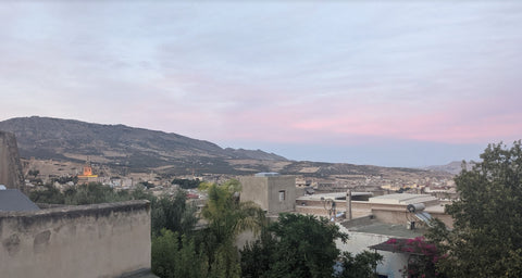 Fez from a rooftop