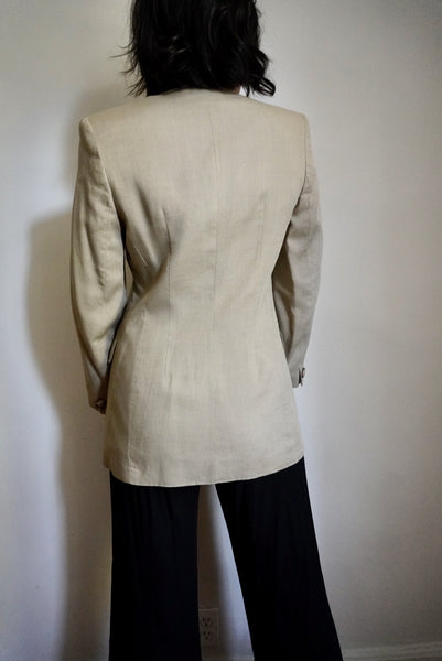 Lightweight Tan Blazer