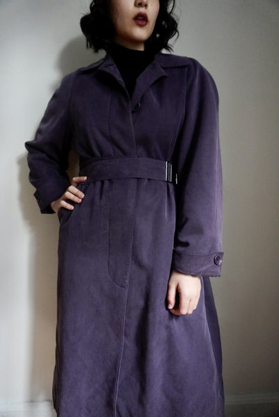 Convertible Eggplant Trench