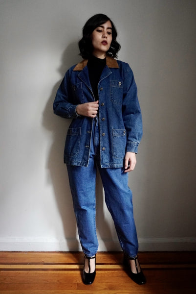 Collared Denim Jacket