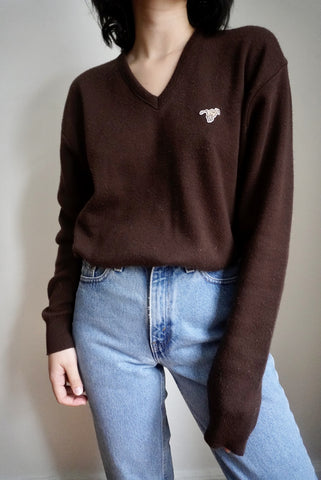 Chocolate Wrangler Sweater