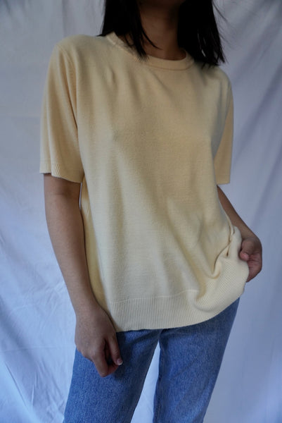 Salted Butter Knit Tee