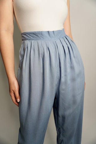 Baby Blue Pull On Pants, 28-30W