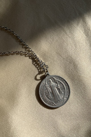 St. Benedict Pendant Necklace (Small)